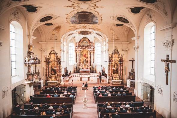 Hochzeitsbilder St. Peterskirche Nimburg am Kaiserstuhl