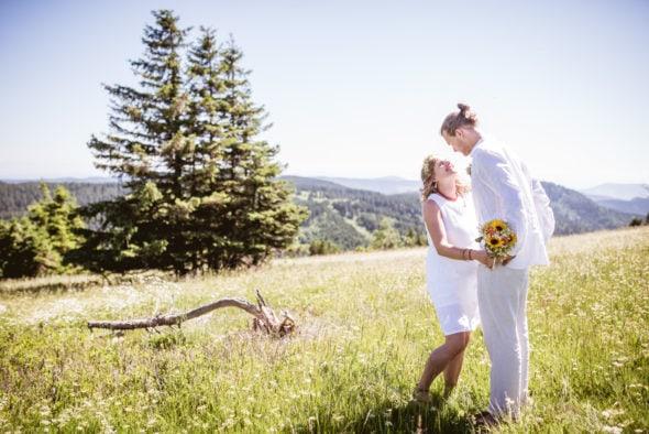 Hochzeitsfotos Feldberg Schwarzwald