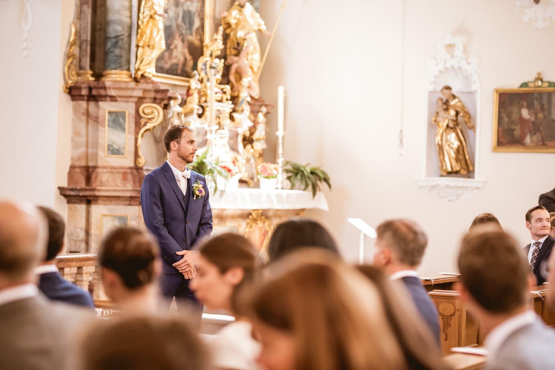 Hochzeit Bräutigam Klosterkirche St. Märgen