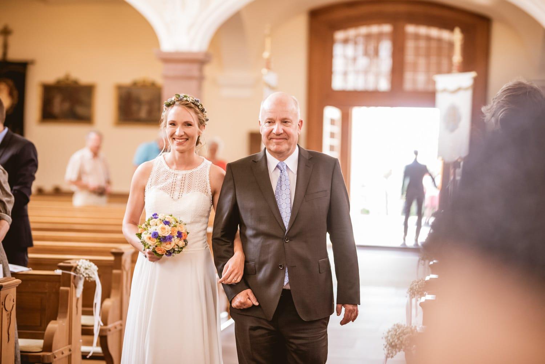 Brauteinzug Hochzeit Klosterkirche St. Märgen