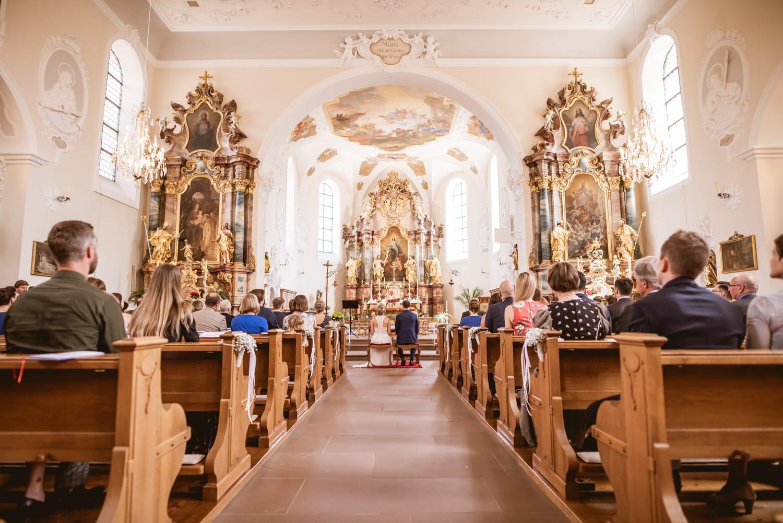 Hochzeit in der Klosterkirche St. Märgen