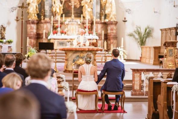 Hochzeit in der Klosterkirche St. Märgen Schwarzwald