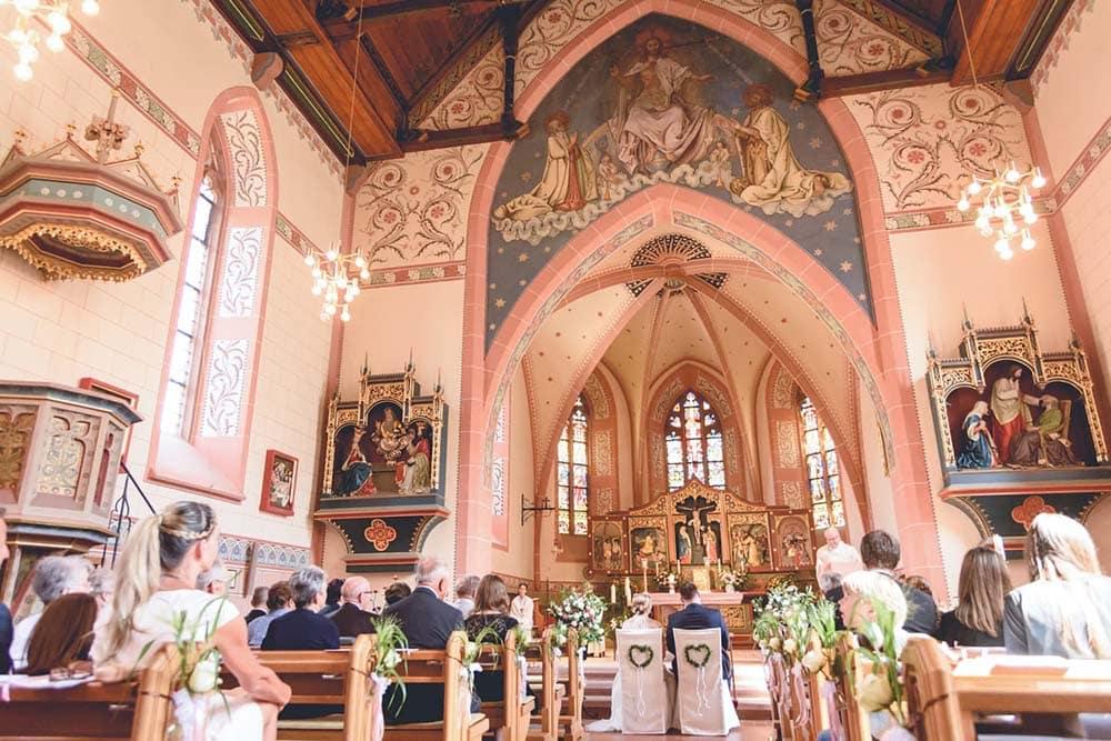 Hochzeitsfotograf Freiburg Kirche Buchenbach