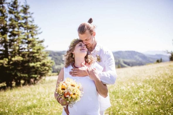 Hochzeitsfotograf Schwarzwald Brautpaarfotos Feldberg
