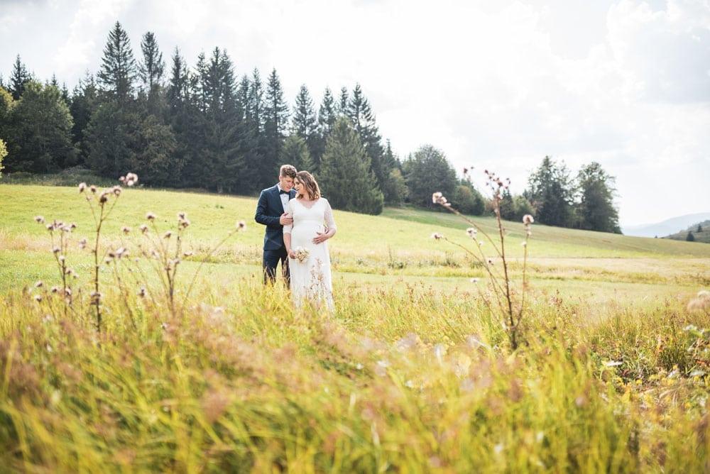 Hochzeitsfotograf Schwarzwald Brautpaarshooting