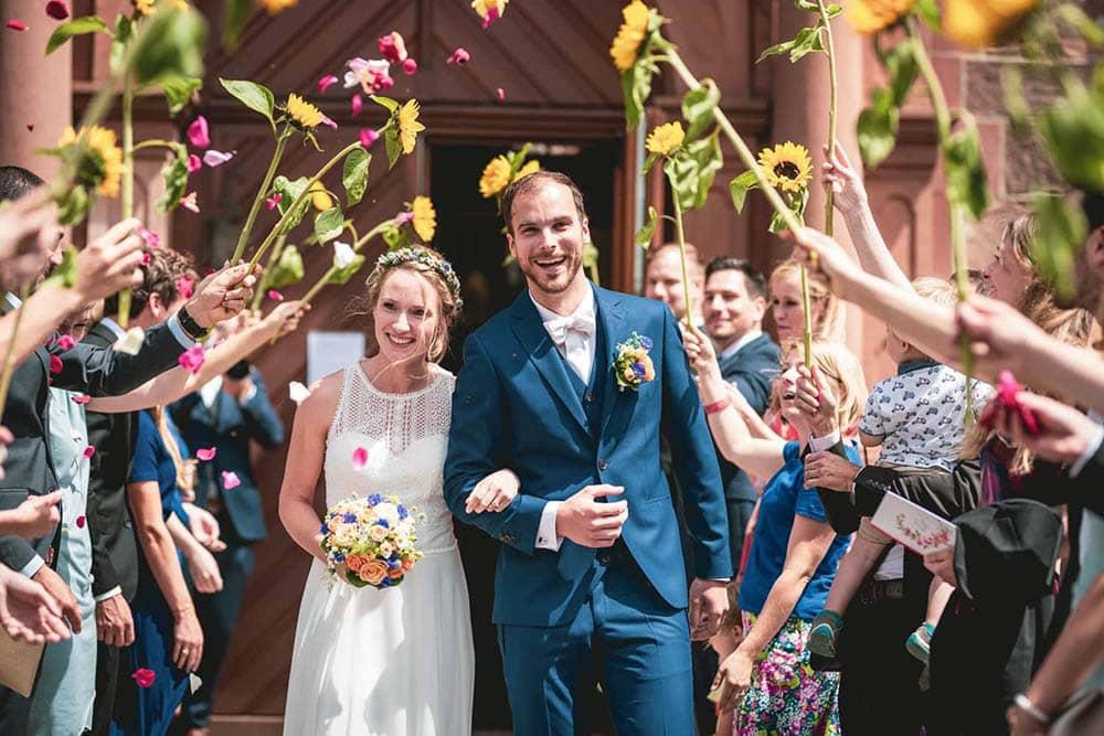 Hochzeitsfotos Freiburg Kirche