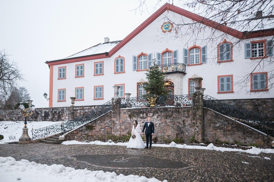 Winterhochzeit Schloss Bürgeln