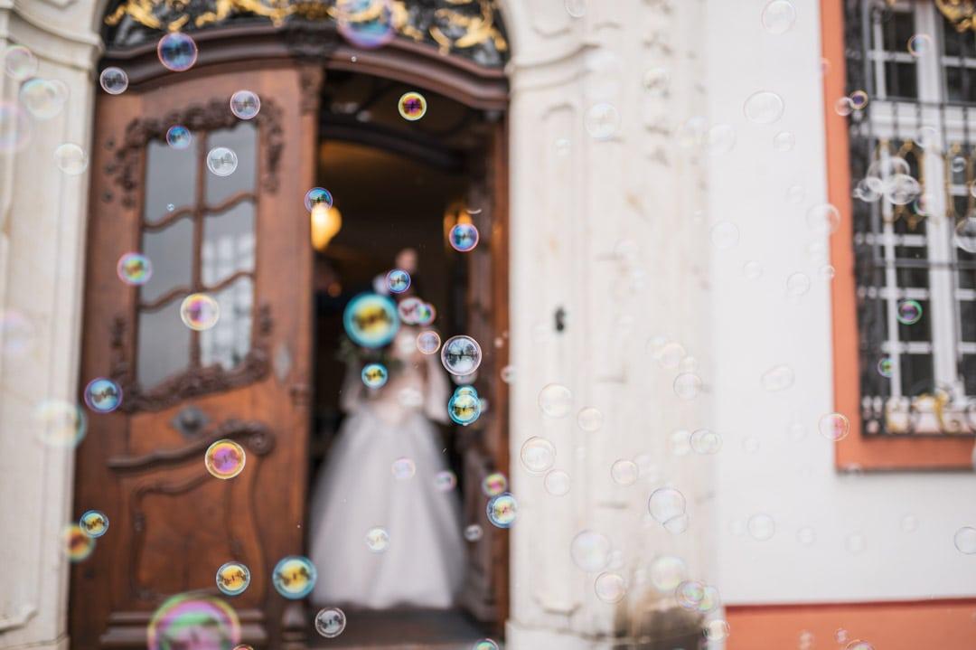 Winterliche Hochzeit auf Schloss Bürgeln