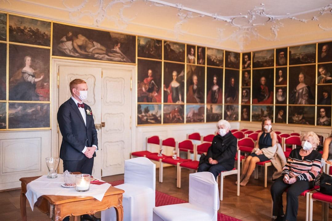 Hochzeit Winter Schloss Bürgeln